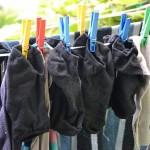 旦那の洗濯物が臭い。臭い移りを防ぐ方法と取り方。